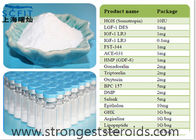 Anti-estrogen Raw White Powder Danazol 17230-88-5 Infertility  For Male Enhancement Steroids