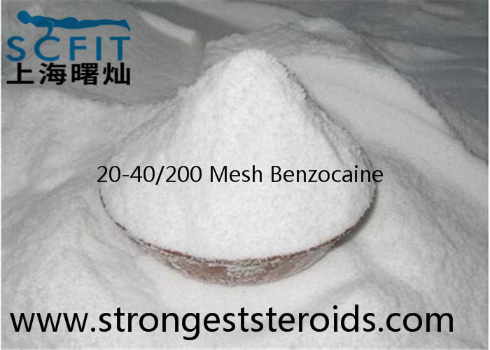 Benzocaine 94-09-7 White Local Anesthetic Drugs Powder lidocaine For Surface Anaesthetic